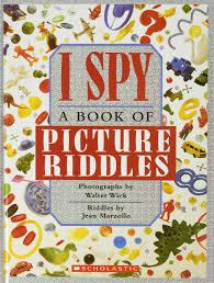 I Spy: A Book of Picture Riddles: Jean Marzollo, Walter Wick, Carol Devine  Carson: 9780590450874: Amazon.com: Books