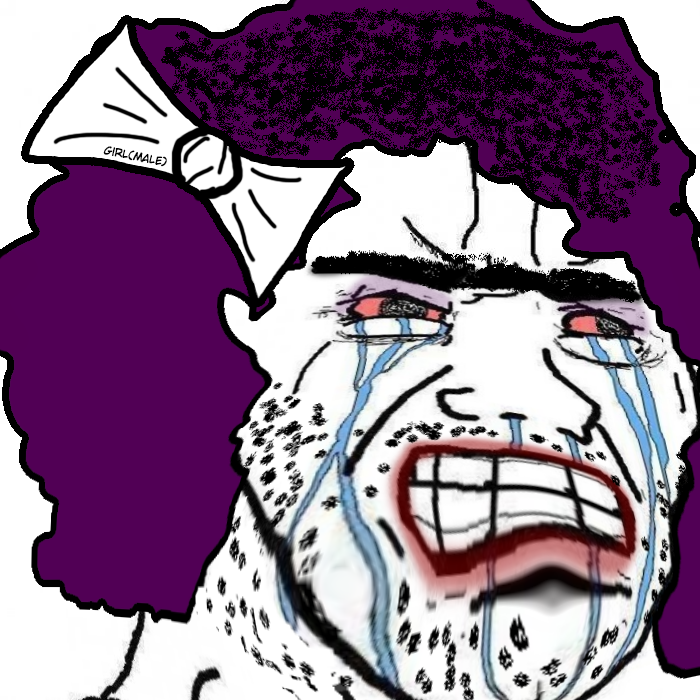 5874 - angry girl male rage tears trans transexual ugly unibrow wojak.png