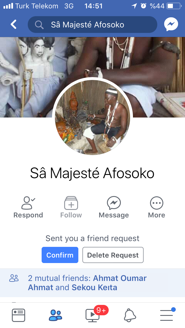 Friend request from a witch doctor | Somali Spot | Forum, News, Videos