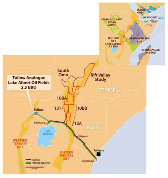 East African Oil - Maps and Prospects   Somali Spot   Forum, News