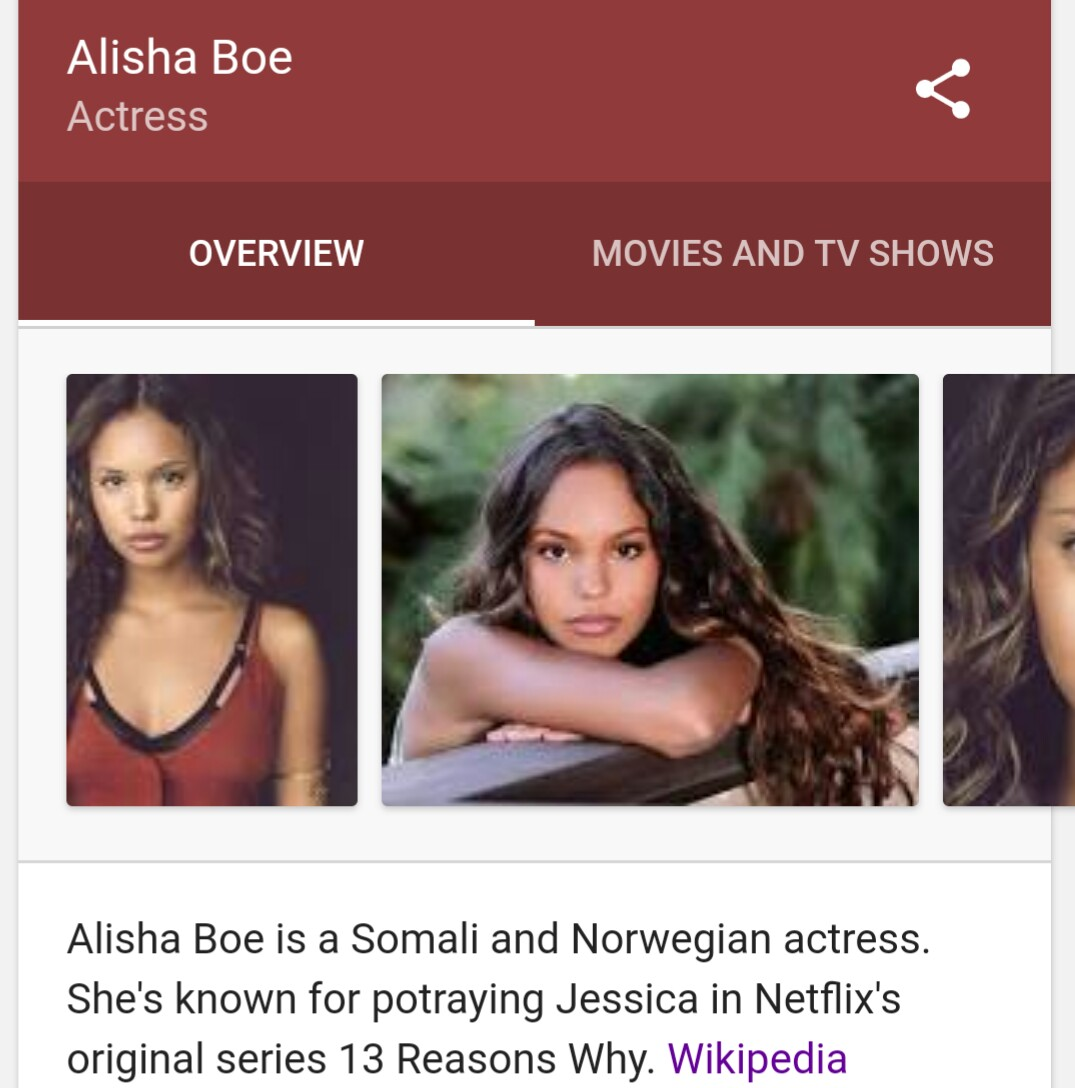Half Somali half white girl is a star in a brand new Netflix show