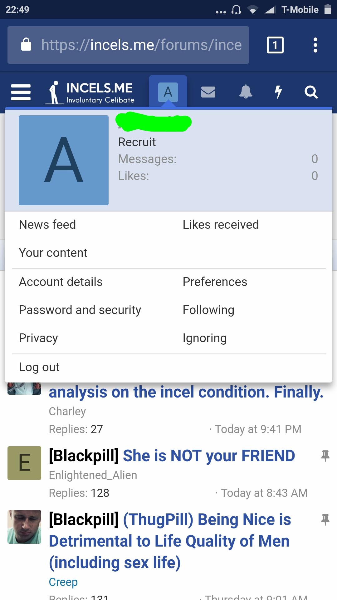 incel forum