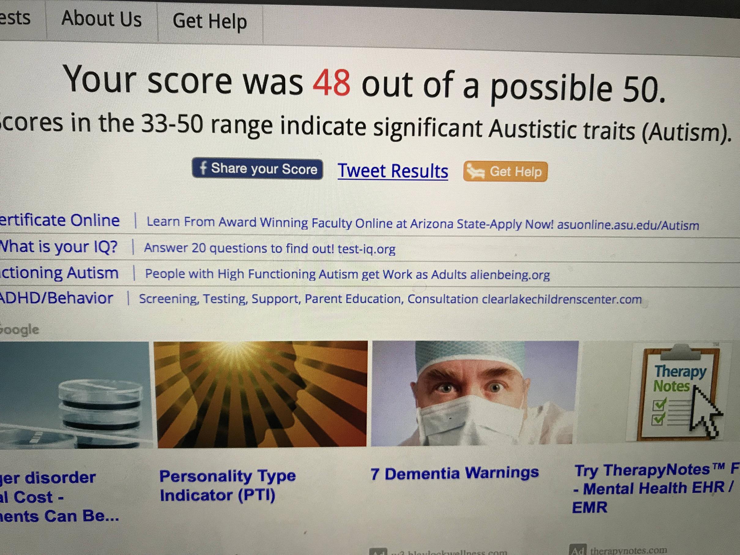 take autism test Page 7 Somali Spot