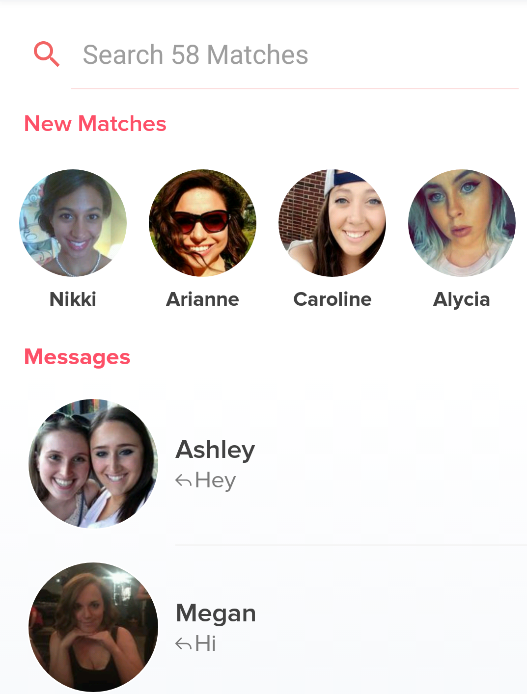 How many tinder matches do you have